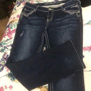 Vanity boot cut jeans